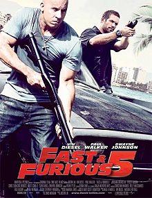 Fast and Furious 5 (Rápidos y Furiosos 5) (2011)