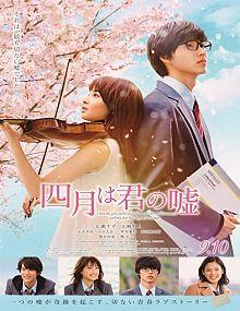 Shigatsu wa kimi no uso (Your Lie in April) (2016)